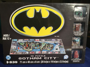 NEW Sealed DC Batman Mini Gotham City 4D Puzzle By 4D Cityscape