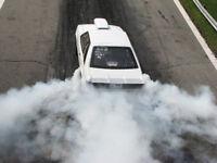 1986 mustang drag car