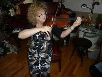 VIOLIN LESSONS WITH LOUISE CIANFLONE (SUMMER AND FALL 2016)