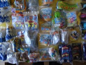 Collection de plus de 215 objets Burger King Kid's Meal