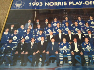Toronto maple leafs   1993 norris champions framed photo 20 x 16 Kitchener / Waterloo Kitchener Area image 2