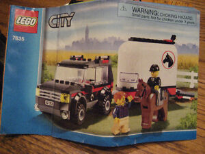 LEGO City - 4Wd with Horse Trailer (#7635) Collectible