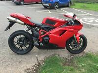 2012 Ducati 848 evo superb condition in red 13k fsh belts at 12k