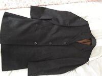 """Men's marks and Spencer's overcoat medium length, medium size 40"""" chest"""