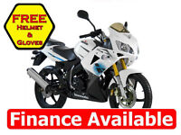 125cc Sportsbike Sports Bike Motorcycle Lexmoto XTR 125 Leaner Legal *FINANCE*