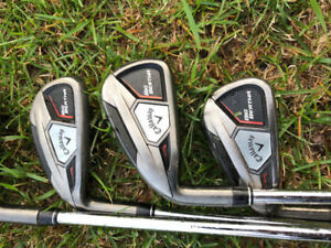 Left hand Callaway great big Bertha irons