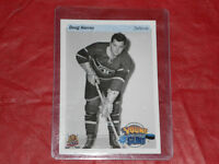 2015 UD HOCKEY CARD DAY IN CANADA DOUG HARVEY YOUNG GUNS 25th