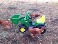 John Deere electric tractor Excellent Condition Toddler sized