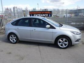 Ford Focus 1.6 ( 100ps ) Zetec 5 Door Hatch Back