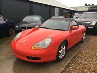 Porsche Boxster 2.7 Low Mileage 986 Convertible 2001 (Y)