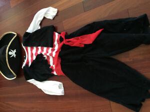 Pirate costumes-2 so 5-6x