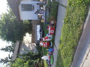 196 catherine ave yard sale