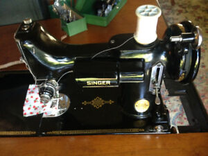 Singer Model 221-1 Featherweight Portable Sewing Machine - $550