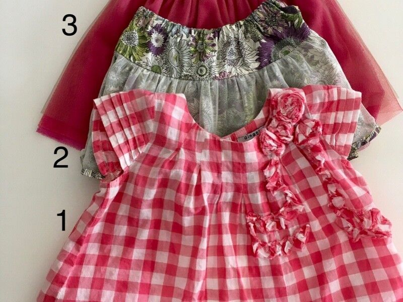 PL Baby Girl Skirts and Top (6-12M)