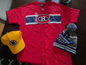NHL Original 6 Swag Hat t-shirt touque
