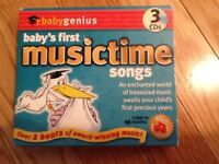 Baby's First Music-time CD's
