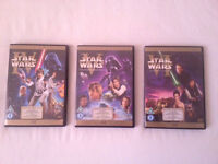 Star Wars LIMITED EDITION DVD Original Trilogy Set