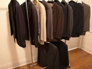 """Men's Suits for Sale, qty 11 in total, Size 42Reg, Waist 35/36"""""""