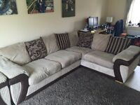 DFS Corner Sofa and Armchair