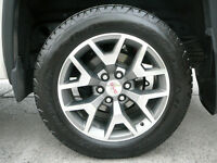 "20"" GMC RIMS AND TIRES"