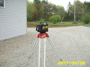 Laser Level & Gas Nailer