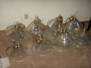 20-Over Table Glass Lights $10.00 each