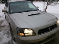 1999 JDM Legacy B4 RSK 20,000 kms twin turbo awd!!