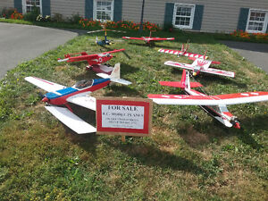 Radio Controlled Model Airplanes From $100.00 - $250.00