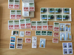 50+ Unique collectable Canadian stamps.