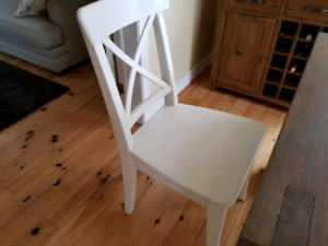 6 Ingolf dining chairs from Ikea
