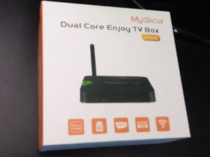 MyGica ATV520e TV Box , complete with accessories and manual.
