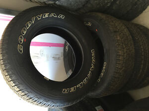 Goodyear wrangler 275/65R18 tires