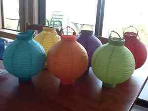 Colored Paper Lanterns For Sale