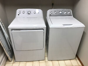 GE deep fill washer / dryer for sale