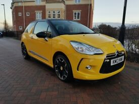 Citroen DS3 HDi 90 DStyle (yellow) 2013