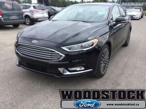 2017 Ford Fusion   TITANIUM AWD, LEATHER, ROOF, NAVIGATION