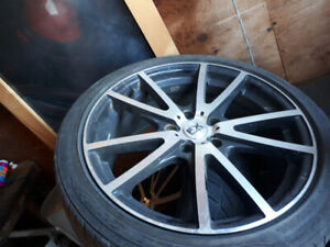 18'' fx rims mint and universal 5 bolt