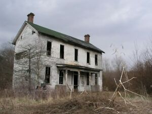 WANTED RURAL COUNTRY PROPERTY-HOUSE- ACRES