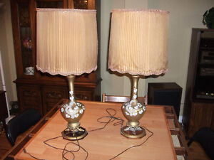 VINTAGE LAMP SET Peterborough Peterborough Area image 1