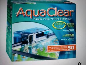 Filtreur a aquarium (75 a 120 L) nouveau encore dans la boite!!!