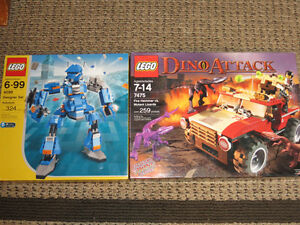 Mint in Sealed Box Lego Sets 4099 and 7475