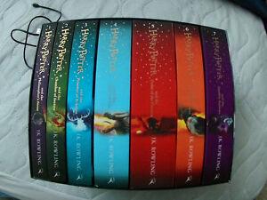 1-7 harry potter books! full set