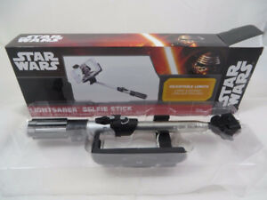 New Star Wars Lightsaber Selfie Stick Adjustable Length