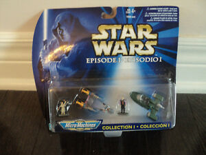 Star Wars Micro Machines Episode 1 Collection 1 *NEW IN BOX*