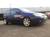 April 2004 Ford Focus Sport 1.8 Diesel TDCI 115Bhp**Performance Blue**