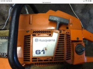 WANTED   Husqvarna and stihl chainsaws and parts