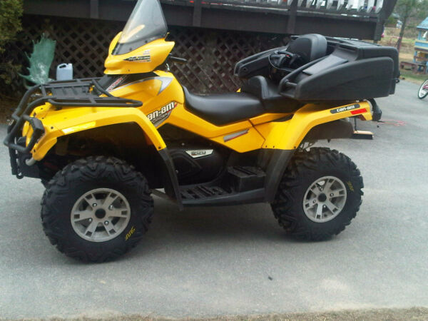 Used 2008 Can-Am Can Am Outlander 800 Max XT (2 up seat)