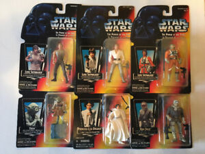 Star Wars power of the force figure collection