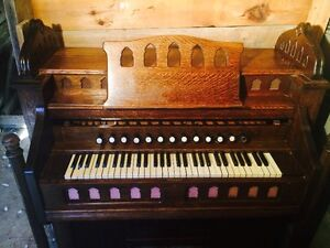 A lovely vintage organ in search of a good home