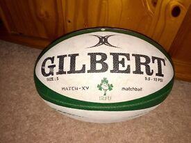 Gilbert Rugby Match Ball Ireland